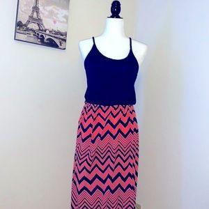 PINK ROSE | maxi dress